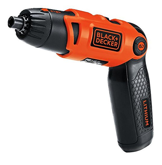 black decker rechargeable screwdriver