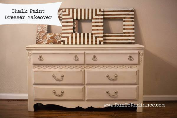 Chalk Paint Dresser Makeover via Run To Radiance