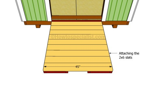 Fitting the slats via How To Specialist