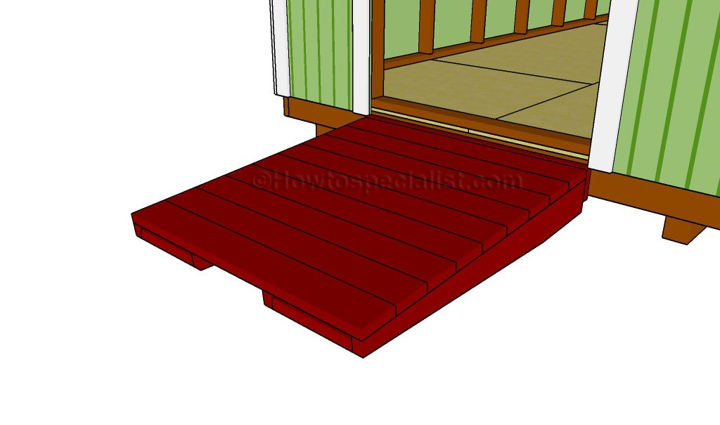 How to build a shed ramp via How To Specialist
