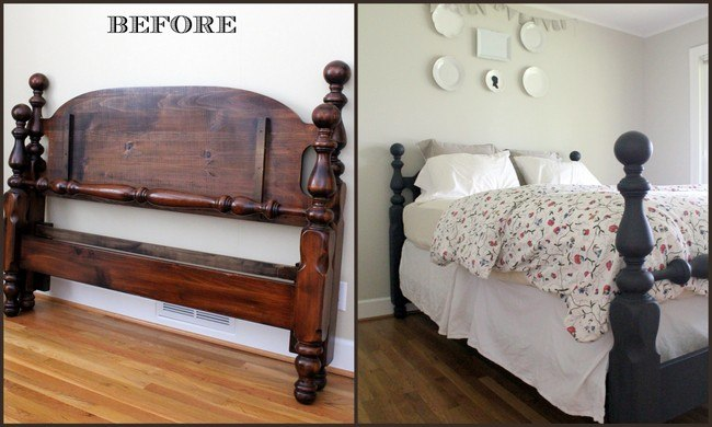 Queen Bed via MD HANEY & CO.