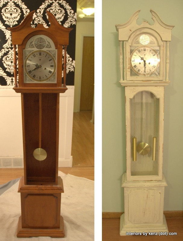 Vintage clock via interiors by kenz