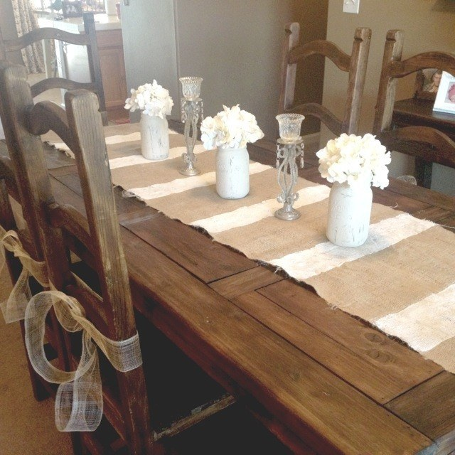 tms farmhouse dining table via foter