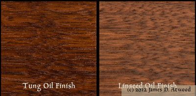 Tung Oil Finish via New World Arbalest
