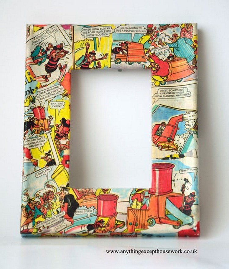 Frame Using Comics for Your Geek Love