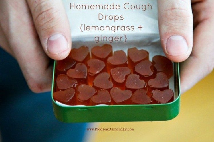 DIY Love Cough Drops