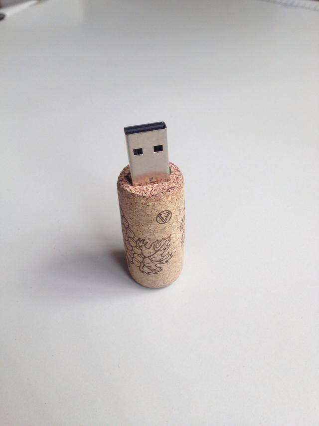 Wine Cork USB Flash Disk
