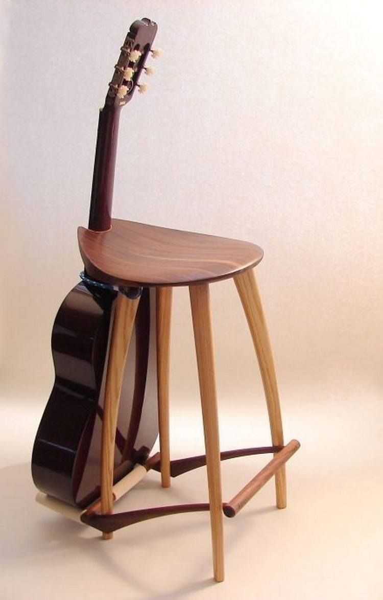 Guitar Chair Stand