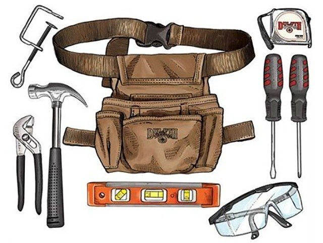 TOOL POUCH via POPULAR MECHANICS