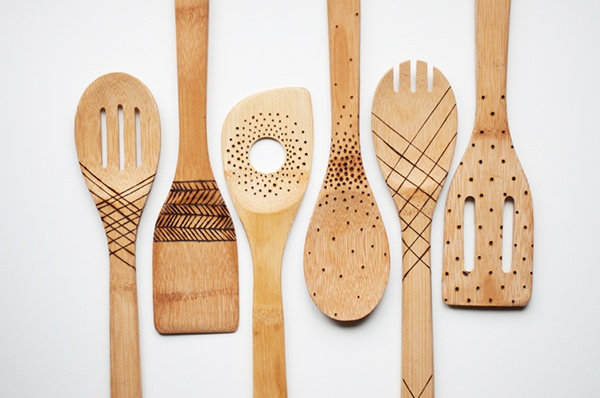 DIY the Cutest Spoons You Ever Did See via MYDOMAINE