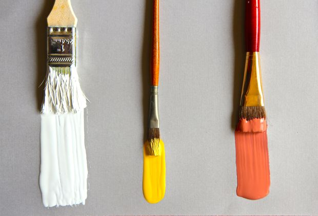 Paint Brushes via instructables