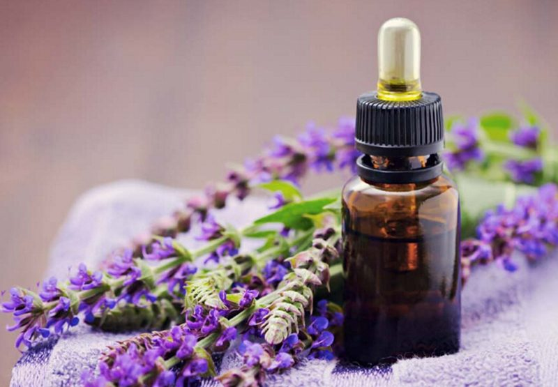 Clary Sage essential oil via New Health Advisor