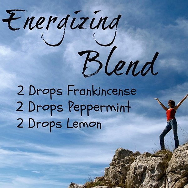 ENERGIZING DIFFUSER BLEND RECIPE WITH FRANKINCENSE, PEPPERMINT AND LEMON ESSENTIAL OILS. via Got Oil Supplies