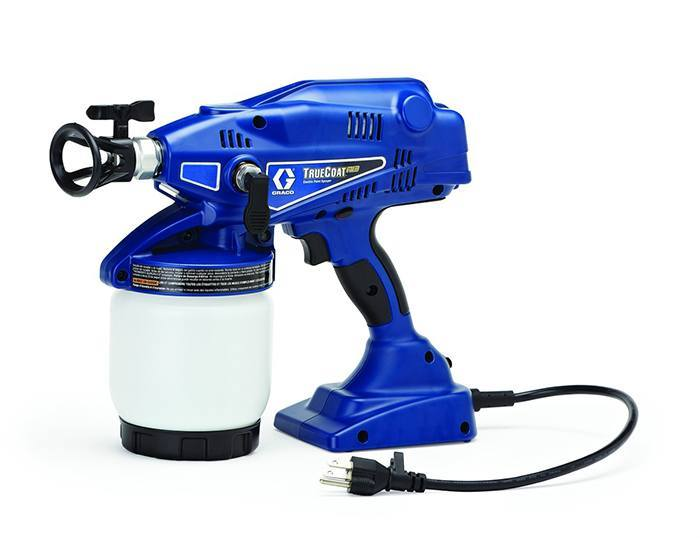 TrueCoat Handheld Electric Airless Sprayer via Graco