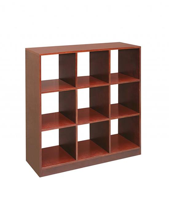 STORAGE CUBE FURNITURE WITH BASKETS WITH ELEGANT BROWN 9 CUBE STORAGE UNIT ORGANIZER SHELVES CABINET SHELF BOX via jacekpartyka