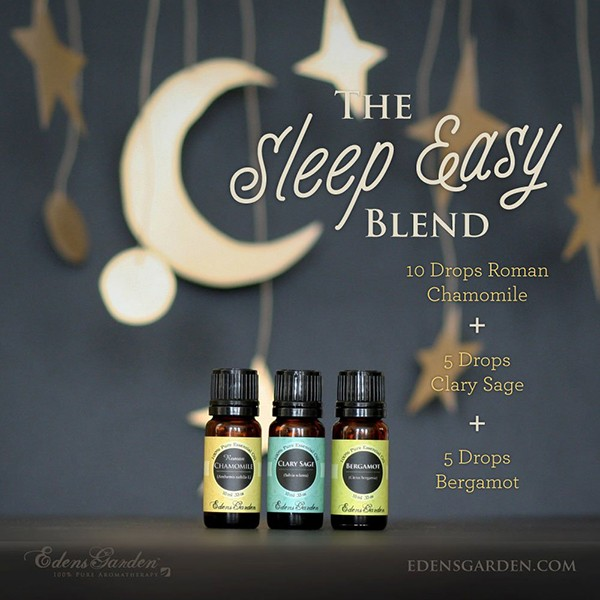 The Sleep Easy Essential Oil Blend via Edens Garden