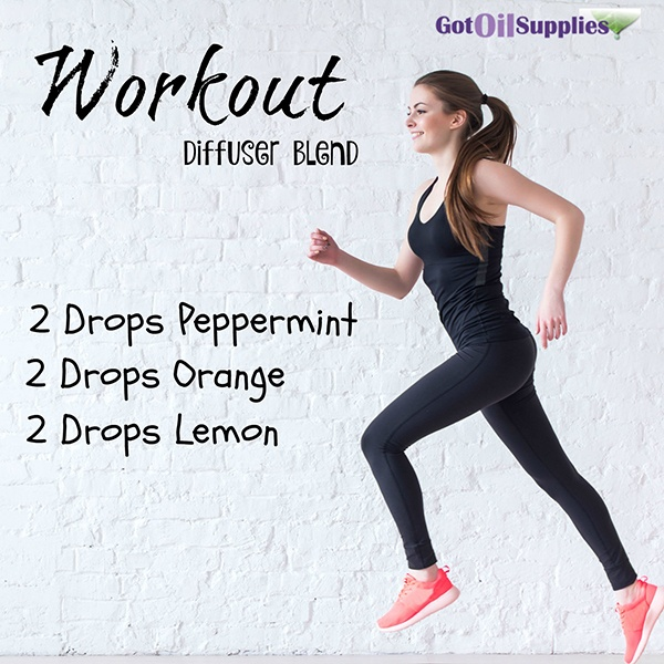 WORKOUT DIFFUSER BLEND via Got Oil Supplies