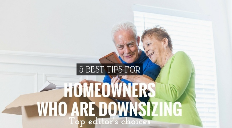 homeowners downsizing tips