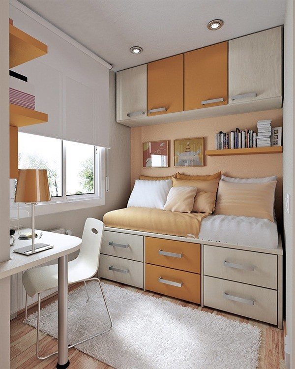 Small Room via HOMESTHETICS