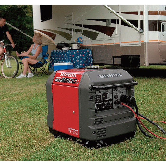 Honda EU3000iS Portable Inverter Generator — 3000 Surge Watts, 2800 Rated Watts, CARB Compliant, Model# EU3000IS1A via Northern Tool