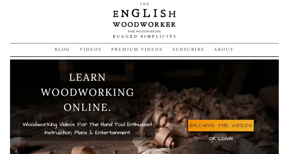 The English Woodworker
