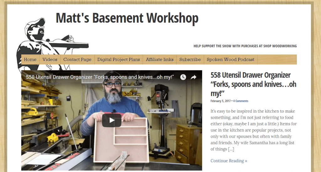 Matts Basement Workshop
