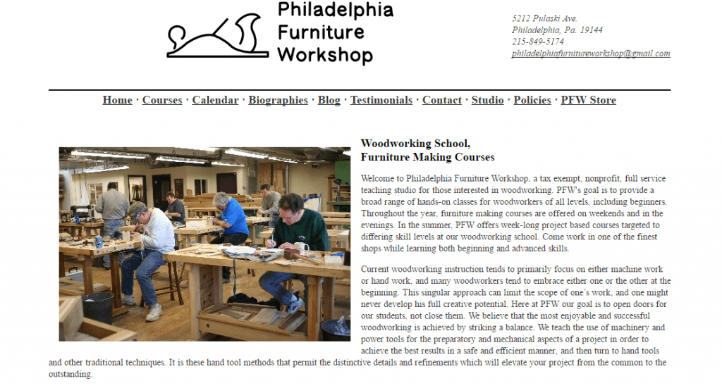 Philadelphia Furniture Workshop