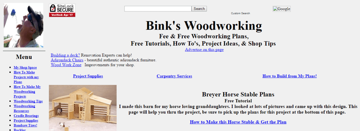 Binky's Woodworking