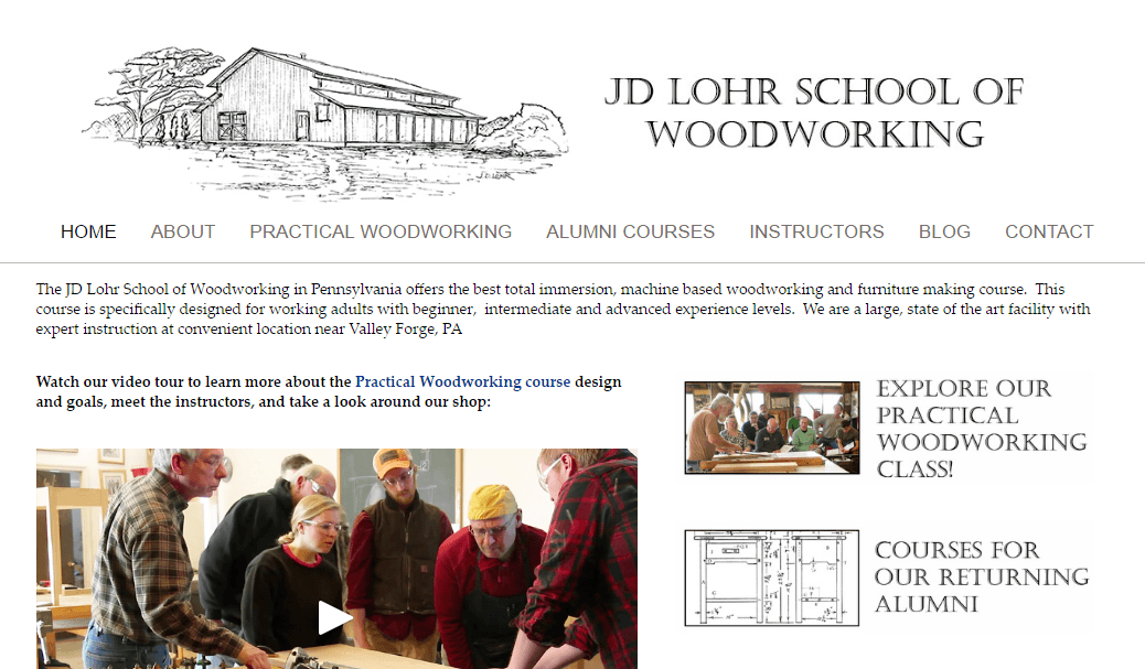 Jdloh School for Woodworking