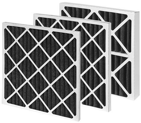 Air filter / panel / activated carbon / chemical via Direct Industry