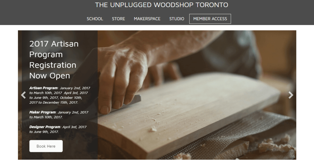 The Unplugged Wood Shop
