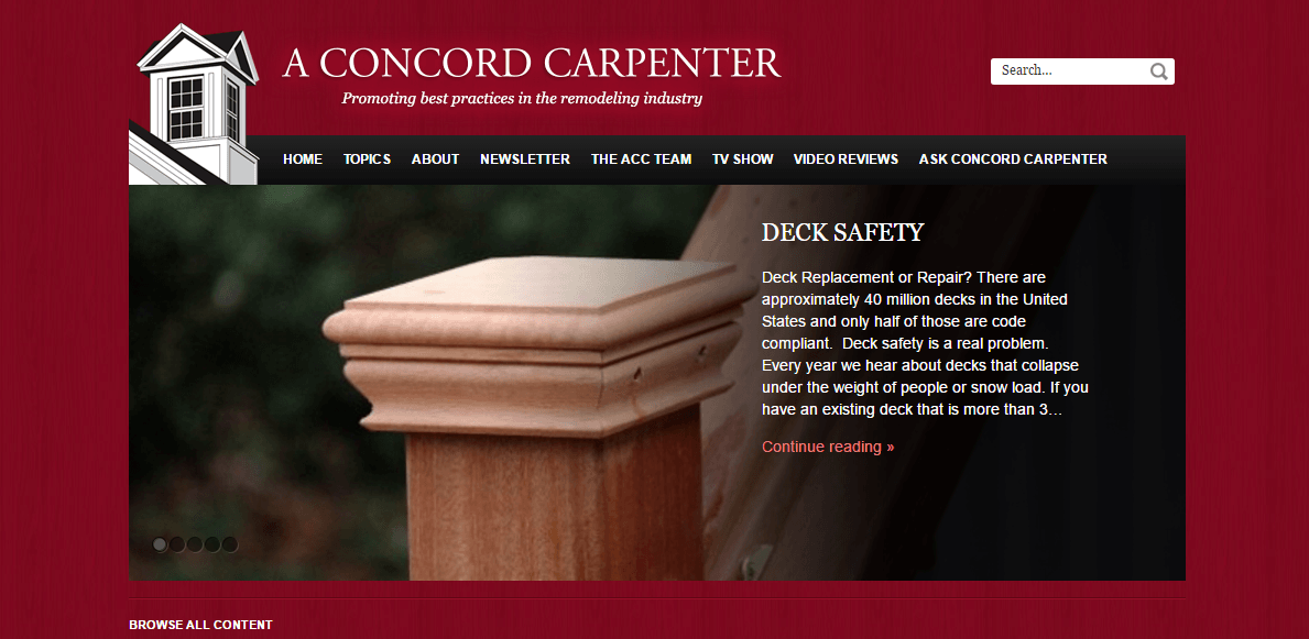 A Concord Carpenter