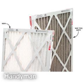 How to Change a Furnace Filter via The Family Handyman