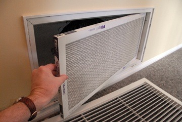 How to Replace a Heat Pump Filter via HomeTips.com