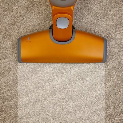 Vacuum cleaner on carpet via Health