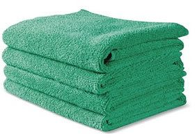 Beautiful, wonderful microfiber terry cloths via Clean My Space