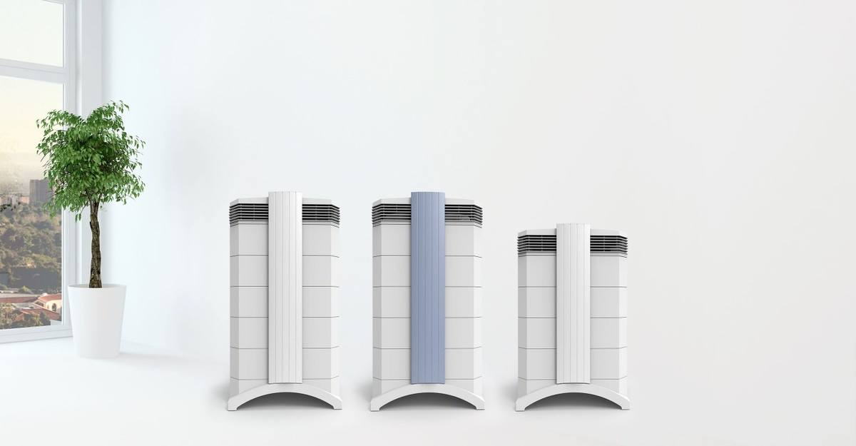 UV Air Purifier via IQAir