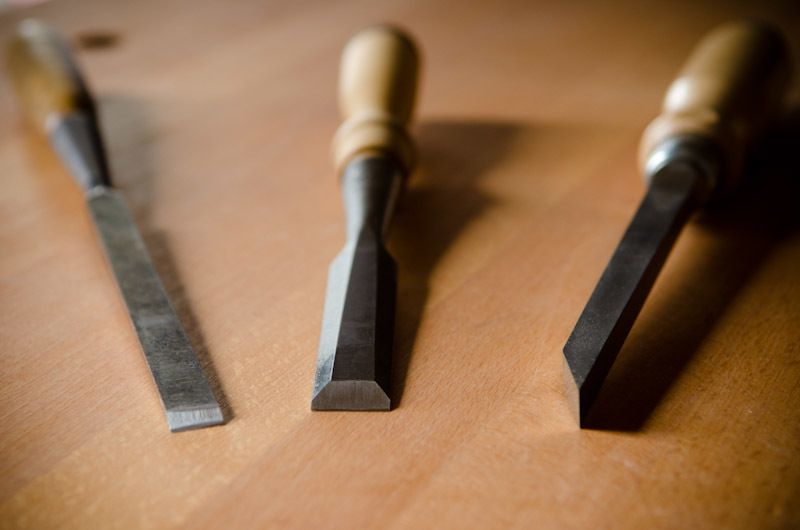 The Main Types of Chisels: Bench, Mortise, & Paring via  Wood and Shop