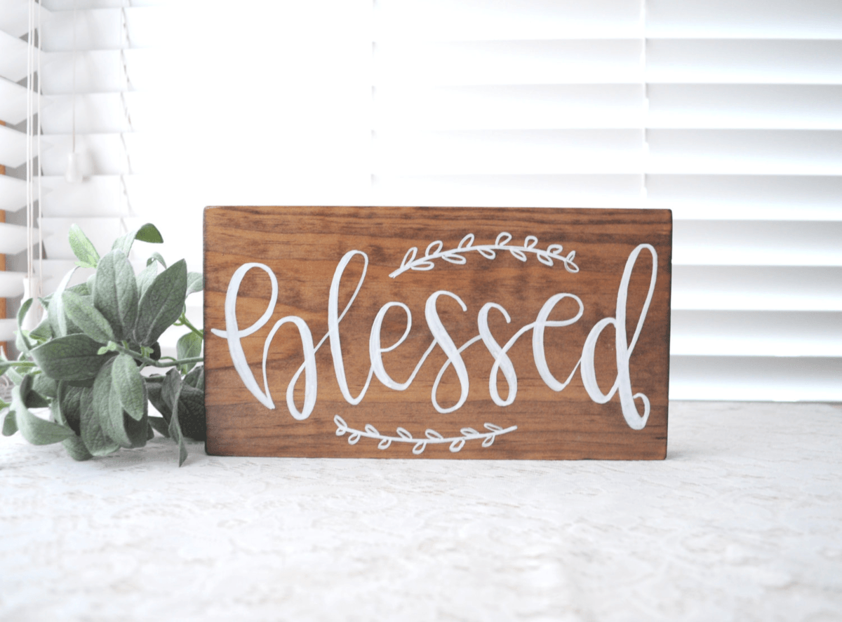Personalized Wooden Signs via Esty