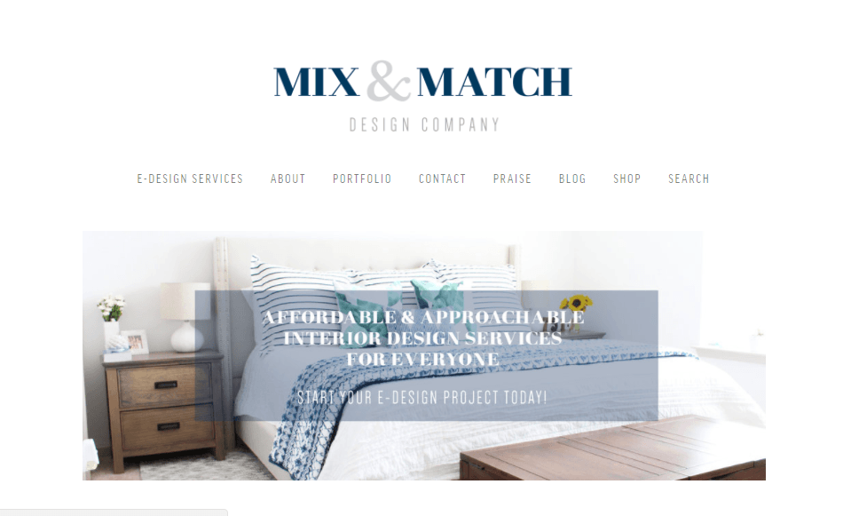 Mix and Match Design