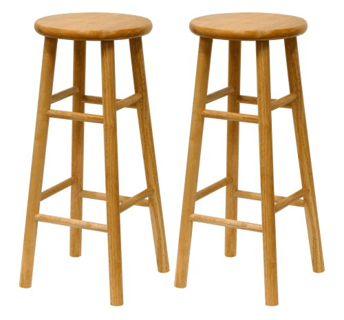 Bar Stool via via Hip2Save: http://hip2save.com/2016/03/31/walmart-or-amazon-two-natural-wood-30-bar-stools-only-43-85-just-21-93-per-stool/