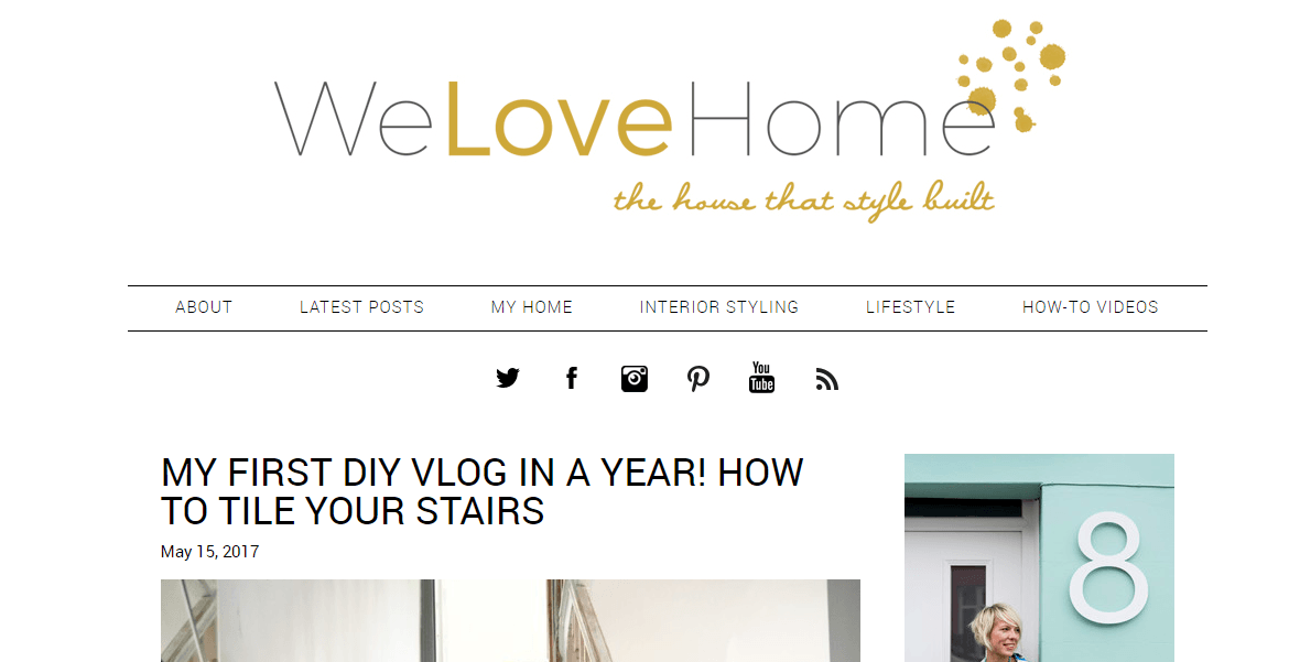We Love Home Blog