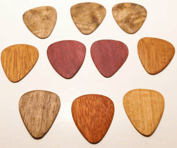 Customizable Guitar Picks