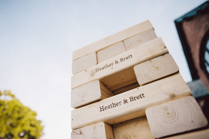 Personalized Jenga-Style Blocks