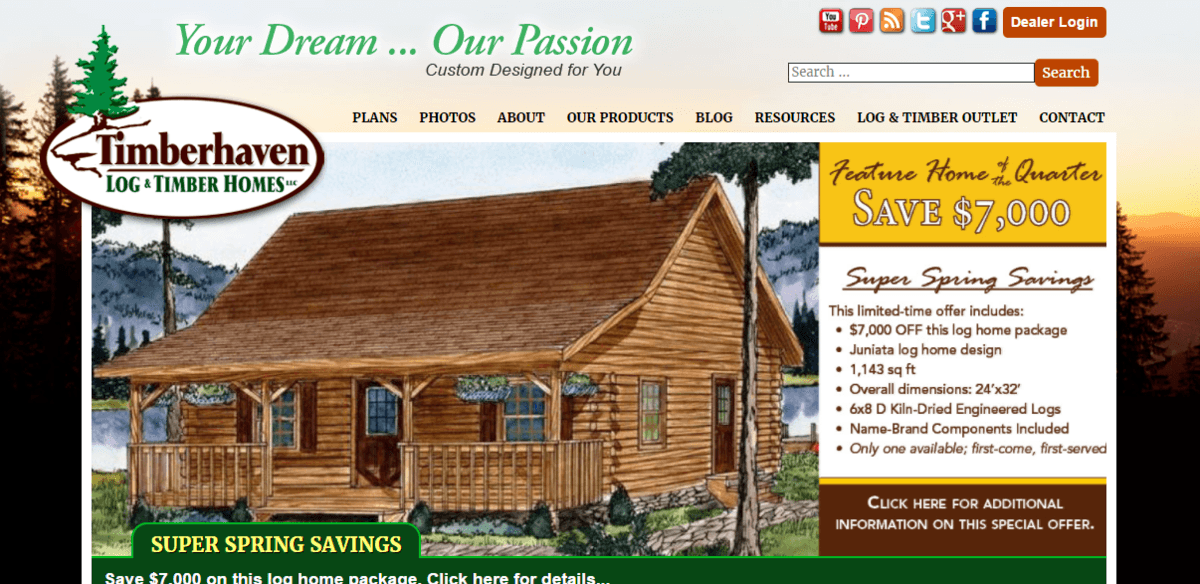 Timber Haven Log Homes