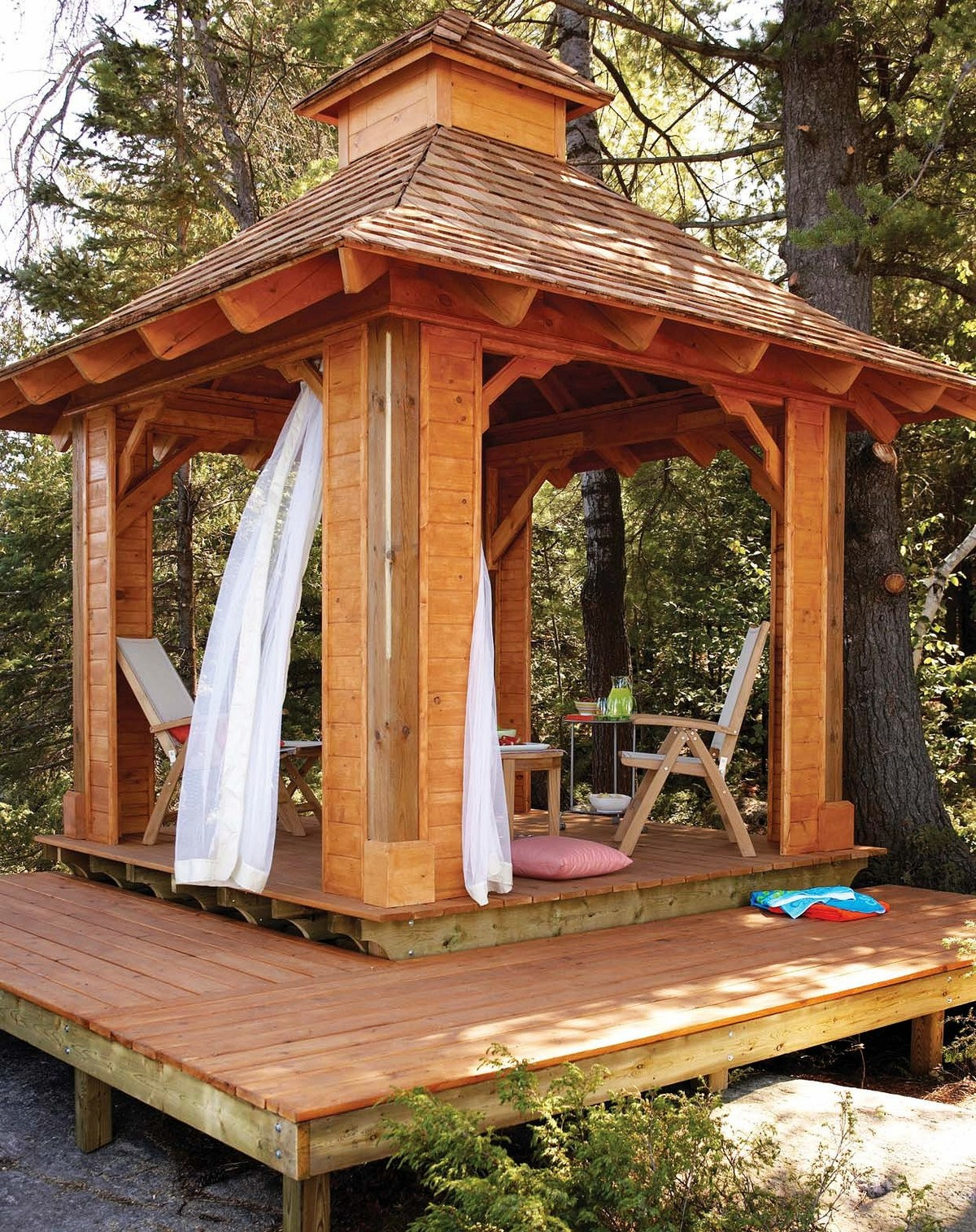 Free Woodworking Plans Garden Gazebos
